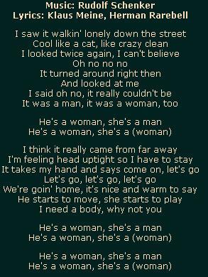 Не девушка не мужчина Одиноко брожу по улицам этого ночного города Все мне здесь нравится и я понял что ночные прогулки располагают Много было народу мне навстречу в этот день но уже солнце садилось Я видел как некто шел рядом со мной видны были ее изящные черты словно у кошки Я вглядывался и не верил глазам это вроде женщина или мужчина не понятно было Оно обернулось и смотрело в мою сторону Я не мог поверить снова и снова видел её Я вслух стал произносить невозможно Это мужик но лицо как у девушки да он парень а лицо девушки И это не из наших мест Я в голове кручу все эти моменты какой то сумбур и приятный парфюм И ухоженность ногтей как у кошки Все это пресуще только девушке Она берет меня за кисть и предлагает ехать к ней Там много хорошего я могу предложить тебе сказала она Там тепло и уютно будет тебе Мне тоже как и тебе нужен друг сказал он Не смог принять ее я предложение и выскользнул обратно