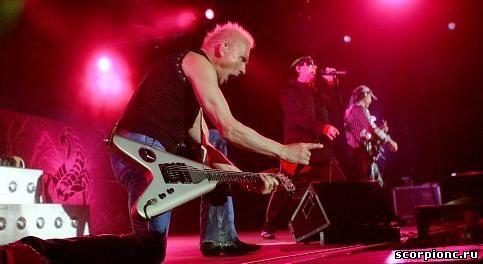 Scorpions в Риге