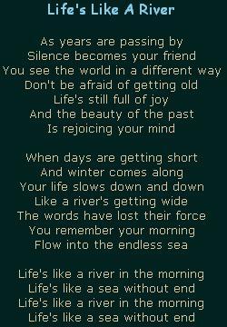 Life's Like A River