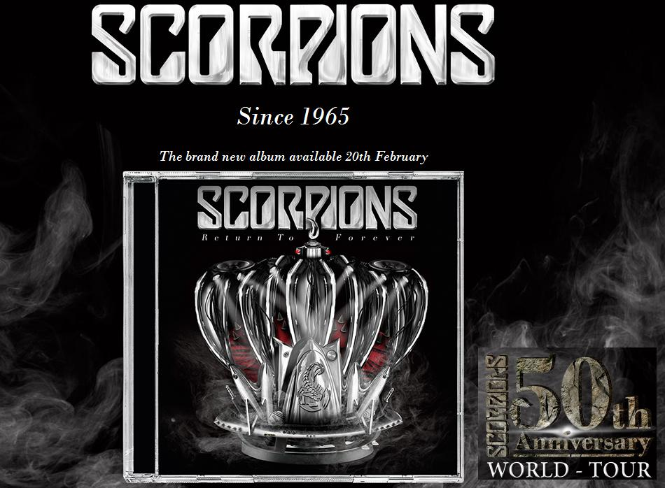 "новый альбом Scorpions - ""Return To Forever"""