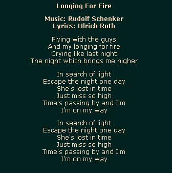 Longing For Fire